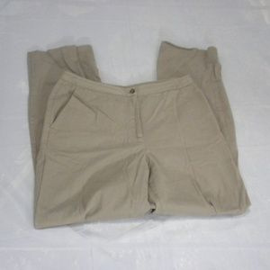Charter Club Size 8 Natural Strength Stretch Pants